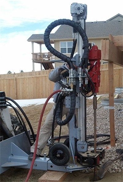Micropile Machine